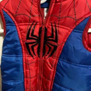 Marvel toddler boys Spider-Man vest.
